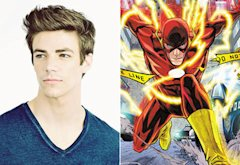 Grant Gustin, The Flash | Photo Credits: darrenhull.com, DC Entertainment
