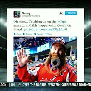 NHL Live: Greatest Fan Beard Ever?