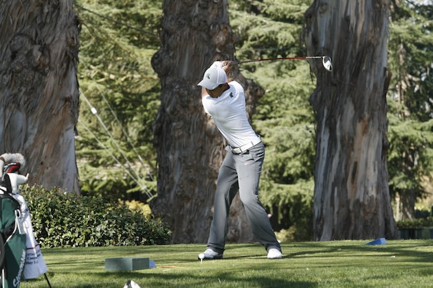 Senior Justin Paglia turned in one of the three best rounds all-time on a famed SoCal course — Photo courtesy Justin Paglia