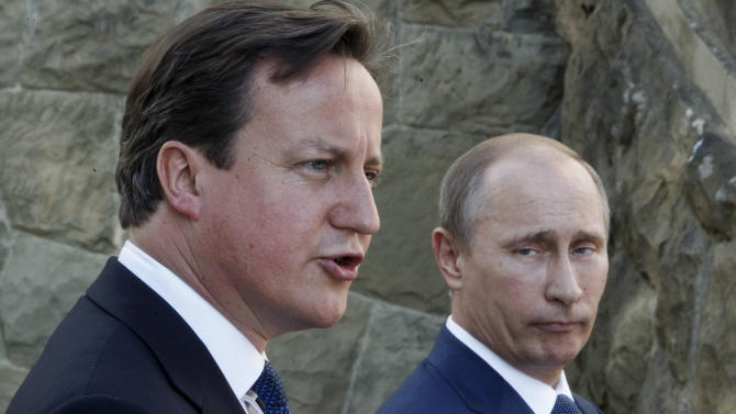 Cameron promises British security help for Sochi