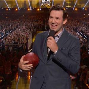 The 50th Annual ACMs - Football With Tony Romo and Luke Bryan