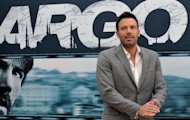 "US actor and film director Ben Affleck at a photocall for his film ""Argo"" on October 19, 2012 at a hotel in Rome. Affleck's Iran hostage crisis drama is nominated for a Golden Globe in the Best Drama category"