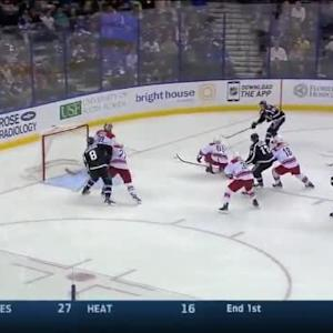 Cam Ward Save on Steven Stamkos (03:10/2nd)