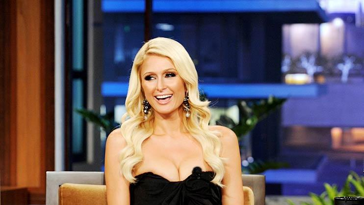 Paris Hilton The Tonight Show