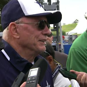 Dallas Cowboys owner Jerry Jones on Oakland Raiders meeting with San Antonio officials