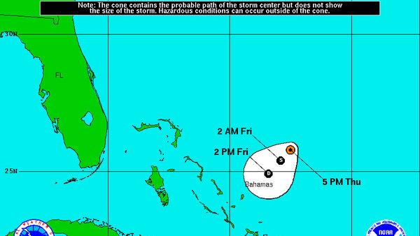 Tropical Storm Patty Forms, Not Expected to Stick Around
