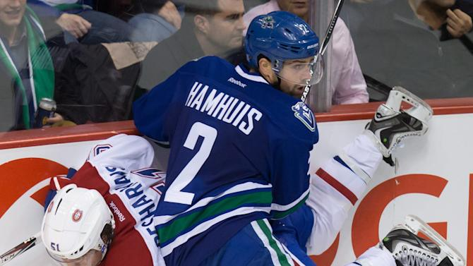 Daniel Sedin's OT goal lifts Canucks over Montreal