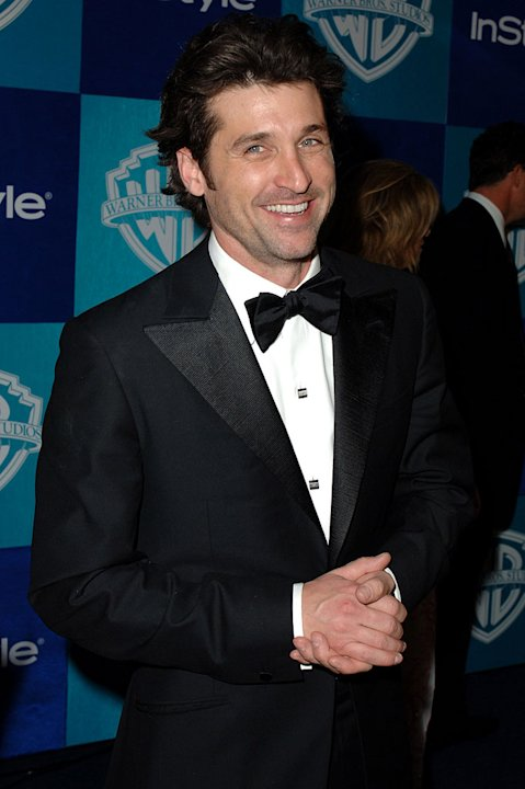 Patrick Dempsey at the InStyle &amp; Warner Bros. 2006 Golden Globes After Party. 
