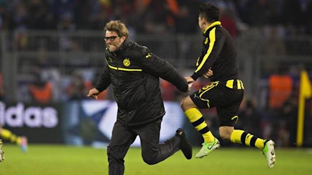 Juergen Klopp celebrates win over Malaga (Imago)