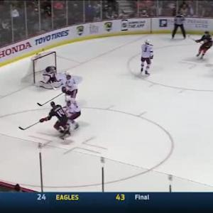 Mike Smith Save on Rene Bourque (15:19/2nd)