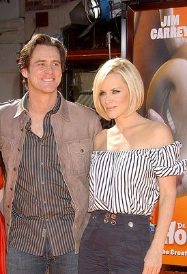 Jim Carrey and Jenny McCarthy  at the Los Angeles premiere of 20th Century Fox's  Dr. .Seuss' Horton Hears a Who