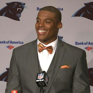 Carolina Panthers quarterback Cam Newton: 'Did I say War Eagle?'