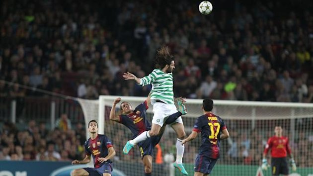 Champions League 2012/2013 Barcelona Celtic Samaras