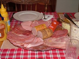 Traditional German Christmas Meal