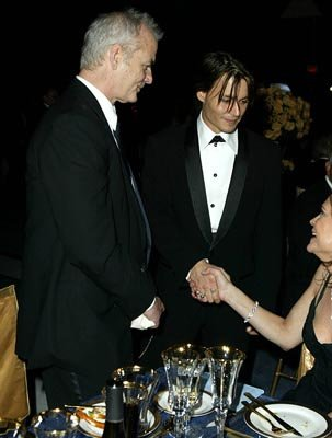 Bill Murray and Johnny Depp