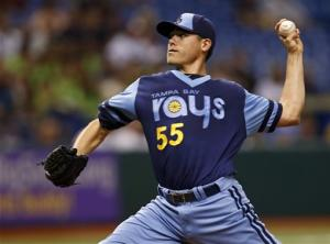 Moore beats Sale as Rays top White Sox 3-0