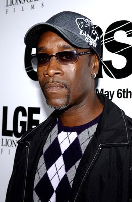 Don Cheadle at the Beverly Hills premiere of Lions Gate Films' Crash