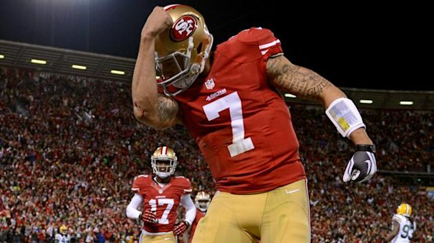 2013 NFL Playoffs Colin Kaepernick San Francisco 49ers