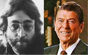 John Lennon Was a Reagan Democrat?