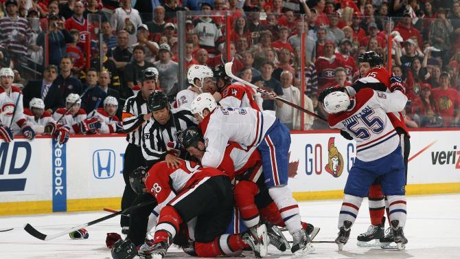 Montreal Canadiens v Ottawa Senators - Game Three