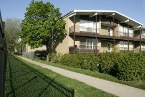 One of the apartment complexes in Detroit involved in the case against Traylor.