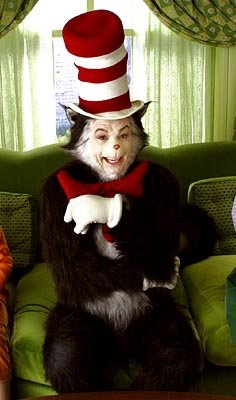 Mike Myers as the mischievous feline in Universal's Dr. Seuss' The Cat In The Hat