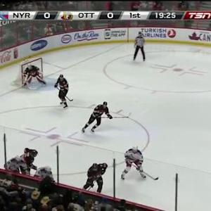 Rangers at Senators / Game Highlights