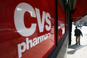 This March 25, 2014 photo shows a CVS store in Philadelphia.…