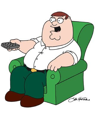 Peter Griffin (voiced by Seth MacFarlane) Family Guy