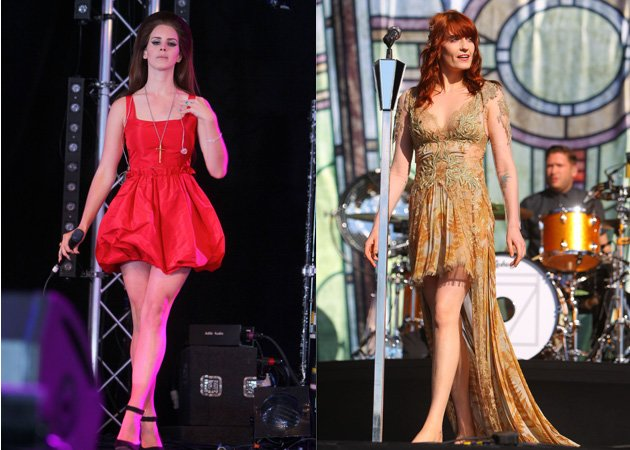 Lana Del Rey, Florence Welch, Hackney Weekend