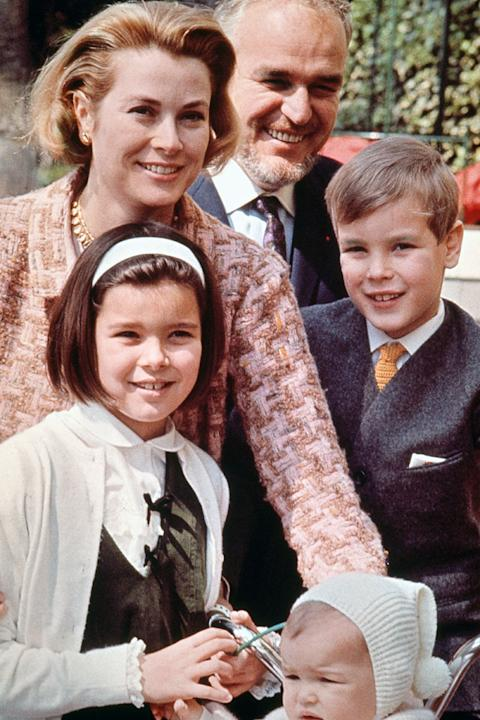 The Royal Family of Monaco, 1966