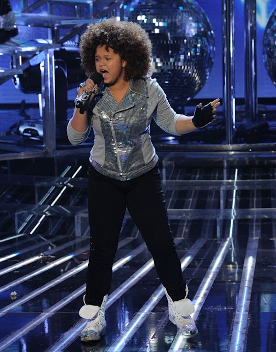 "Rachel Crow performs ""Can You Feel It"" by Michael Jackson on ""The X Factor."""