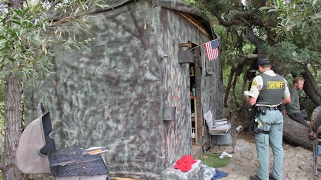 Camouflaged Residence Discovered in California Park (ABC News)