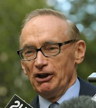 "Australia rankled Papua New Guinea in March when Foreign Minister Bob Carr (pictured in March) said Canberra would ""be in the position of having to consider sanctions"" if PNG failed to hold elections in mid-2012"