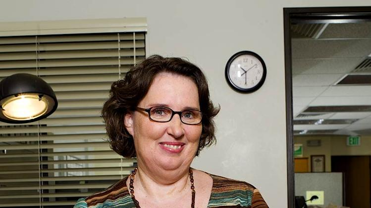 Phyllis Smith stars as Phyllis Lapin on NBC's The Office.