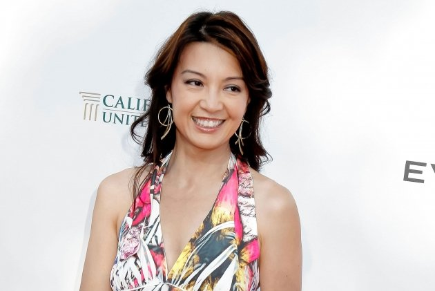 Ming-Na attends 1st annual T.H.E. event hosted by Chris Harrison and The Band From TV at Calabasas Tennis and Swim Center in Calabasas, Calif. on June 9, 2012 -- Getty Premium