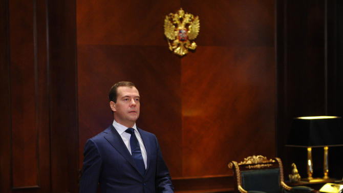 Russian PM Medvedev talks tough on hooligans
