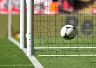 Goal-line technology is tested during England's International friendly football match against Belgium at Wembley Stadium in London on June 2, 2012. FIFA says it has handed out a third licence for revolutionary goal-line technology (GLT), as football's governing body seeks to have a system in place in time for next year's World Cup finals in Brazil