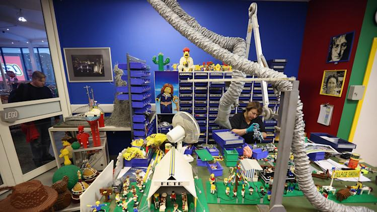 Behind The Scenes At Legoland