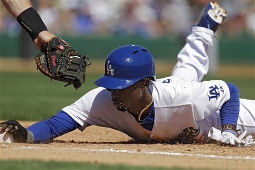 Crawford 2 hits, 2 RBIs as Dodgers lose to D-backs