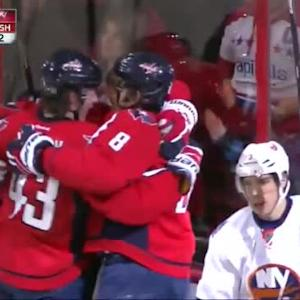 Alex Ovechkin Goal on Chad Johnson (09:53/2nd)