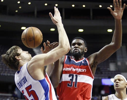 Bynum leads Pistons past Wizards 96-85