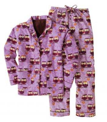Owl-lover Pajamas
