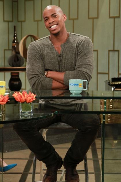 Mehcad Brooks stops by Access Hollywood Live on January 23, 2013 -- Access Hollywood