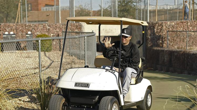 MLB: Chicago White Sox-Pitchers & Catchers