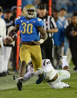 UCLA running back and linebacker Myles Jack. (Jayne Kamin-Oncea/USA TODAY Sports)