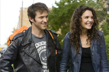 Adam Rothenberg and Katie Holmes in Overture Films' Mad Money
