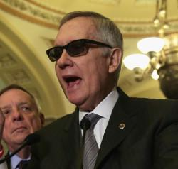 Here's The Sweet Way Nancy Pelosi Showed Support For Recovering Harry Reid