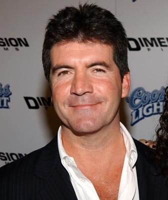 Premiere: Simon Cowell at the LA premiere of Dimension's Scary Movie 3 - 10/20/2003