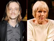 Mackenzie Crook/Diana Rigg -- Getty Images